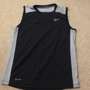 Men's Nike dri fit sleeveless